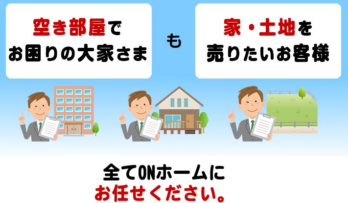 志布志・大崎・岩川の賃貸オーナー、売りたい方へ